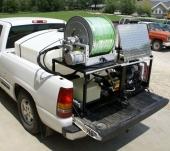 Гидродинамическая прочистная машина Серии VM, TM, PU (размещение в кузов) CAMSpray
