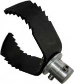Насадка 60 мм для очистки от жира труб 75 мм с лезвием для тяжелых засоров U-3H Electric Eel
