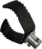 Насадка 90 мм для очистки от жира труб 100 мм с лезвием для тяжелых засоров U-4H Electric Eel