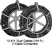Барабан для переноски и хранения спиралей SC-15 Electric Eel