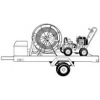 Барабан для спиралей вместимостью 150 м CR-1A