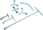 Ключи для крышек колодцев наружных вентилей Reed
