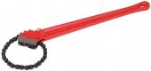 Односторонний цепной трубный ключ REKON
