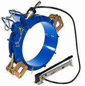 Гидравлические скругляющие накладки  d 400-800 Caldervale Technology
