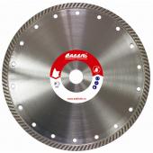 Алмазные диски Турбо с гофрированным алмазным слоем для сухой резки  ТН-BB/AG Адель