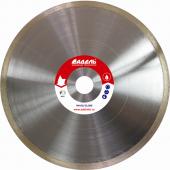 Алмазные диски Корона со сплошным алмазным слоем  для настольных пил и камнерезных станков Адель