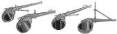 Универсальный цепной ключ PETOL с многорядной цепью для монтажа бурильного инструмента Gearench