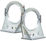 Правый узкий зажим для фиксации литых фасонных изделий