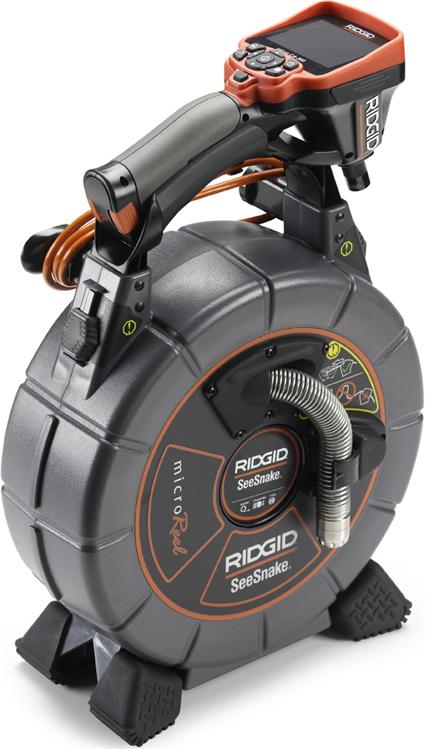 Инспекционная промышленная видеосистема SeeSnake microReel с цифровой инспекционной камерой micro CA-300 RIDGID
