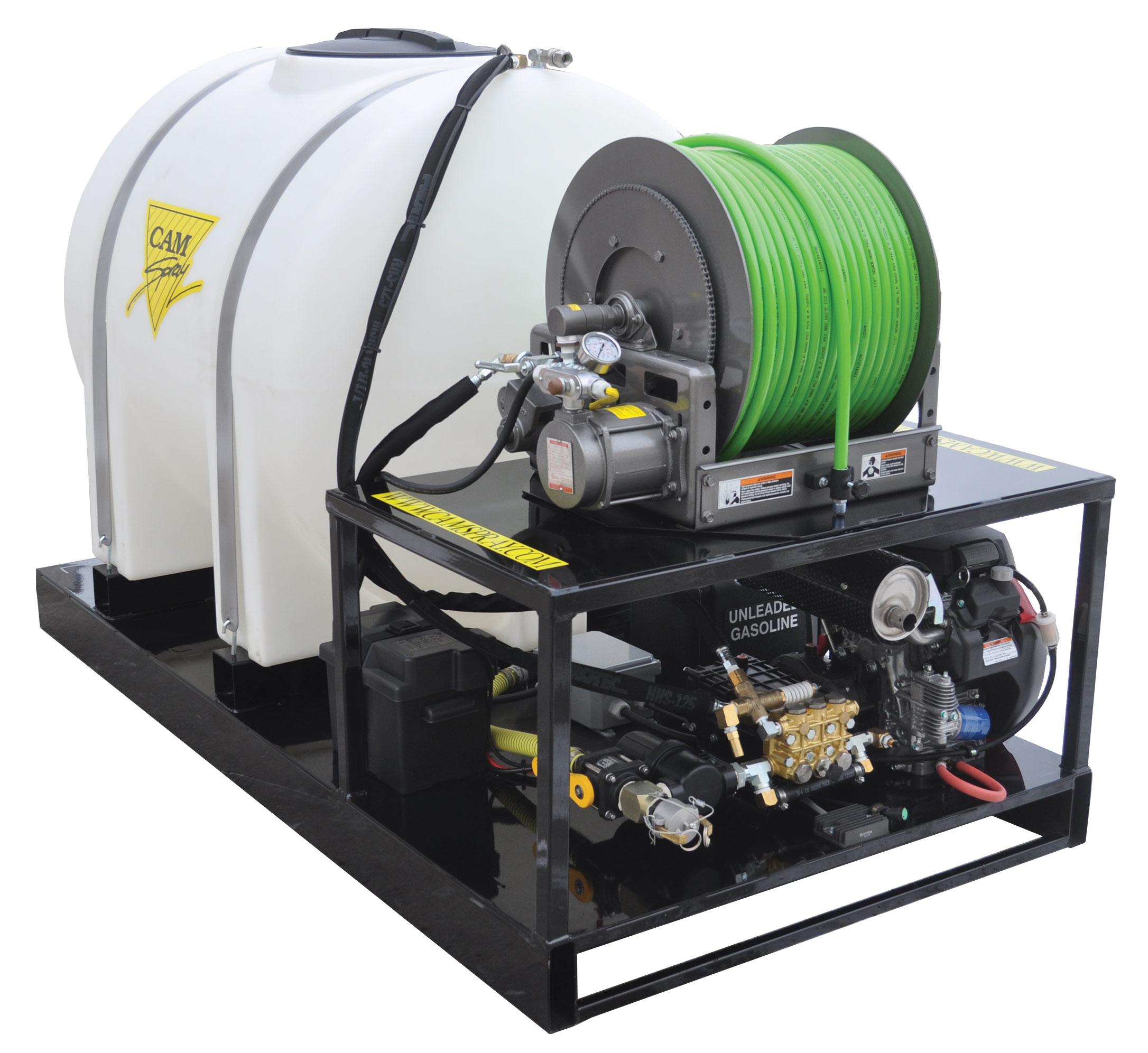 Гидродинамическая прочистная машина серии TM