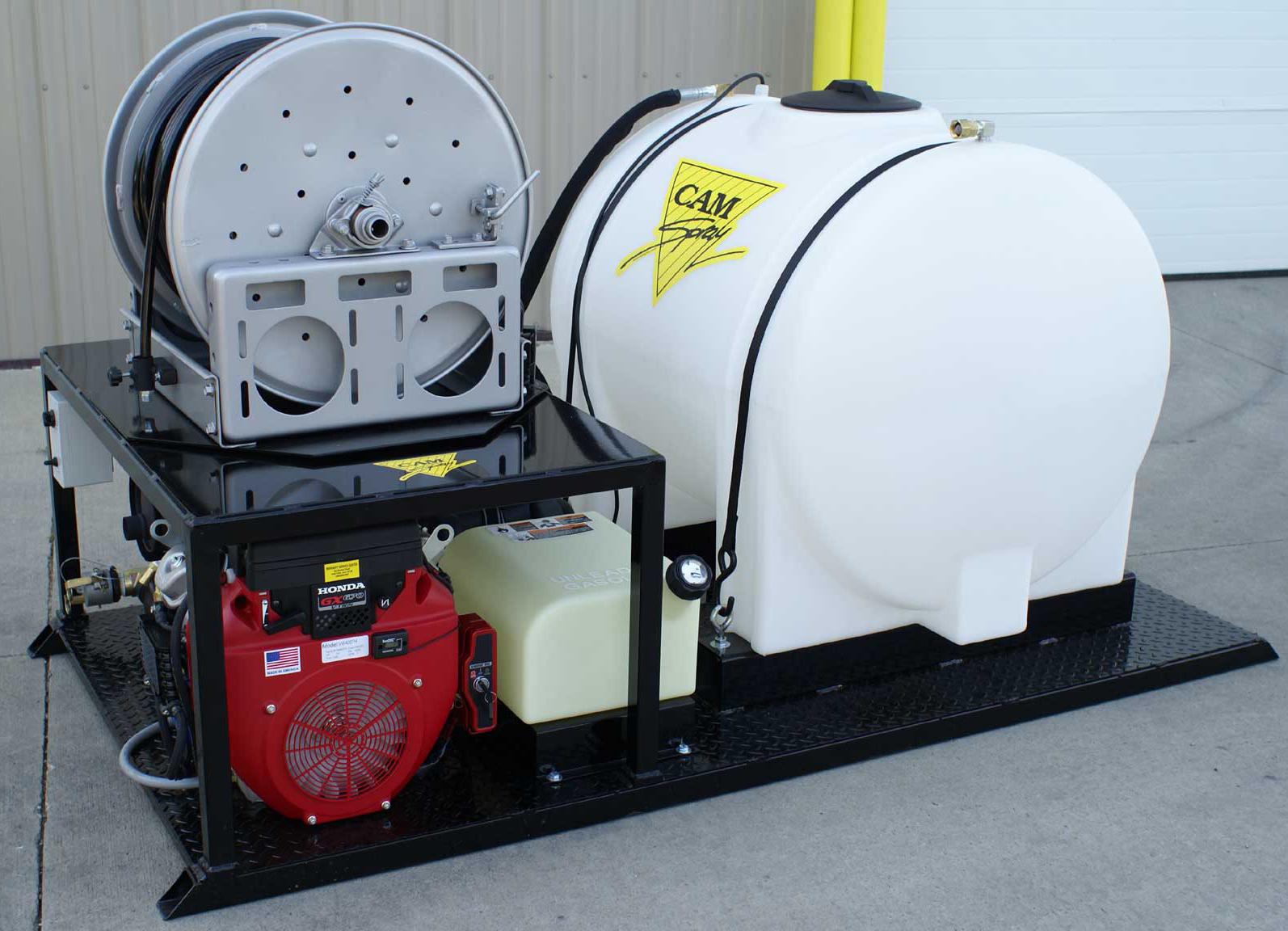 Гидродинамическая прочистная машина серии VM