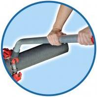 гнутая рукоятка для роторного поворотного трубореза рид reed