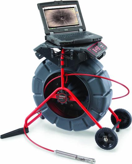 Устройство связи с ноутбуком SeeSnake LT1000 с видеоинспекционной системой SeeSnake RIDGID