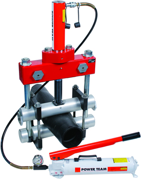 ручной гидравлический передавливатель PES8H reed рид для пластиковых труб