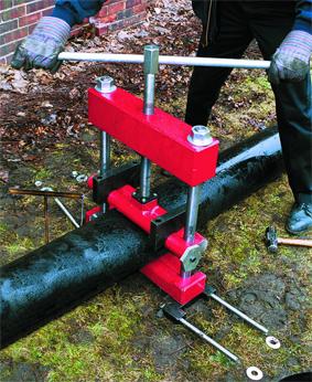 применение передавливателя для пластиковых труб рид reed