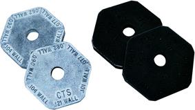 стопорные насадки CTS и IPS для передавливателя для пластиковых труб рид reed